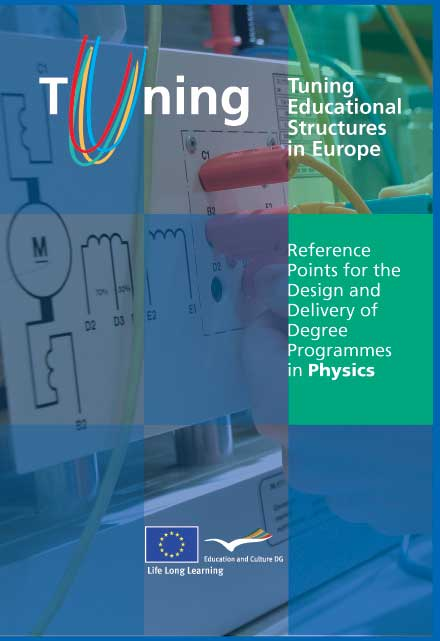 Reference Points for the Design and Delivery of Degree Programmes in Physics